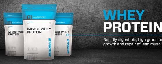 Proteine whey e codici sconto myprotein
