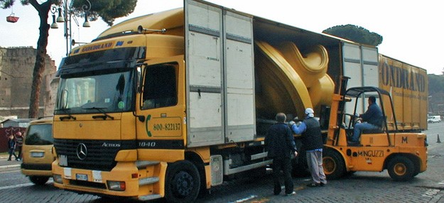 Trasporti opere d'arte e allestimento mostre