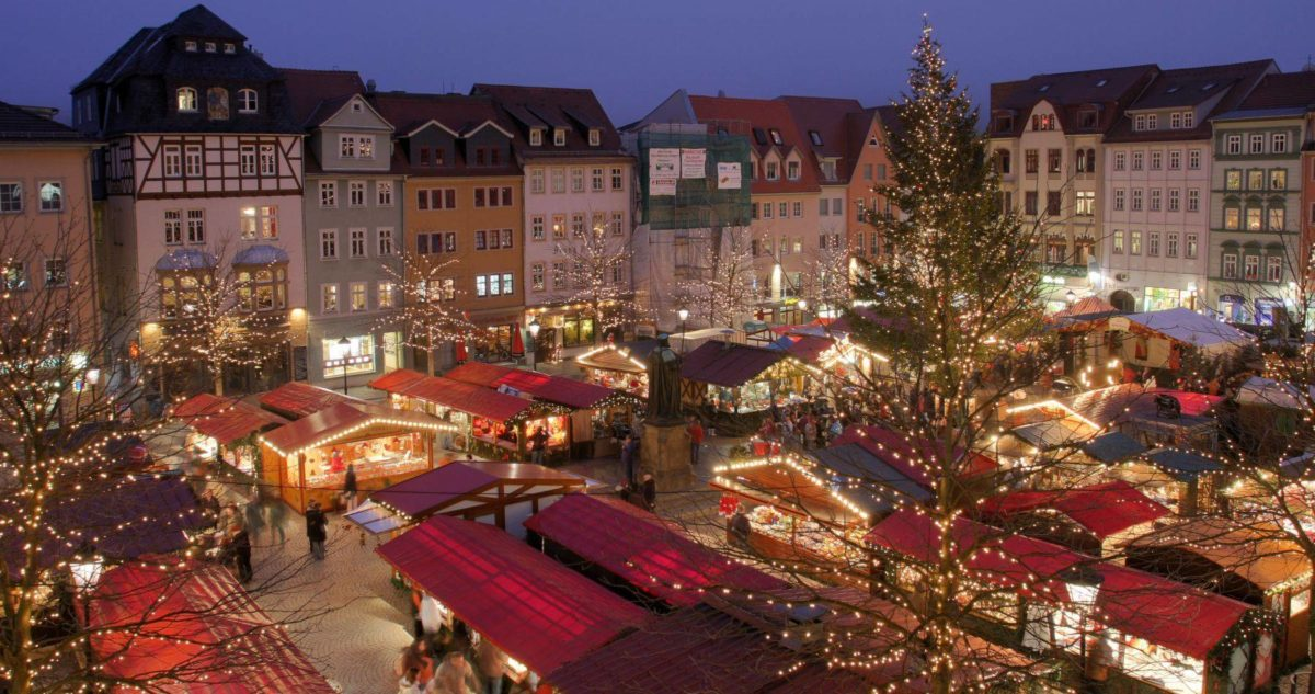 Il fascino dei mercatini di Natale