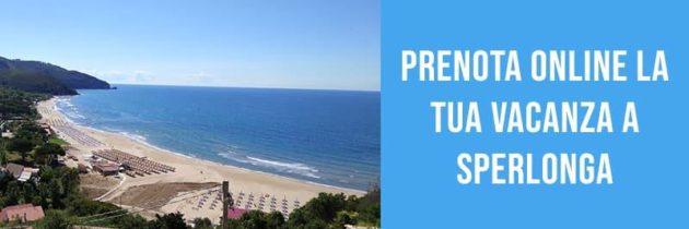 Prenota online la tua vacanza a Sperlonga