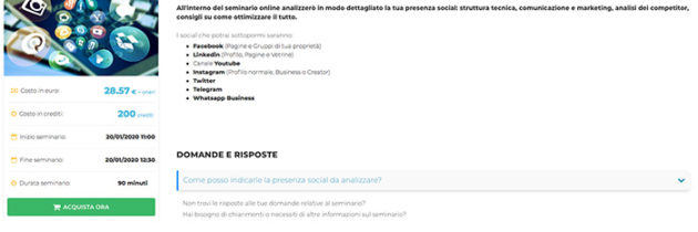 Opinioni Corsi Social Media Marketing | Lezioni Online Docety